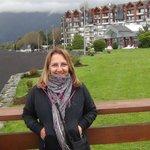 Gran Hotel PUCONárea de terrazas a la Playa de arenas volcánicas