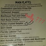 Really??? Are they serve dolphin? ? ?
