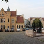View of Hotel Ariane, Ypres, From the Street
