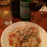 Shrimp Scampi do Bertucci's.