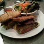 Vegan Fava Bean Sandwich