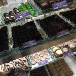 various chcolates