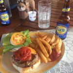 Easily the best burger in the Caribbean.