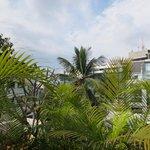 Blick von der Dachterrasse-Restaurant