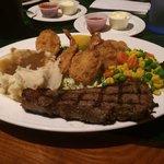 Steak & shrimp special $12.99