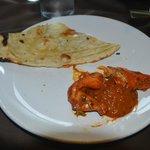 Crab Maasala with Naan