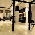 Lobby ... Tiles and marble