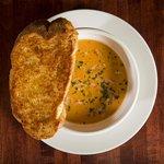 Lobster Bisque - The Hamburger Hamlet Sherman Oaks