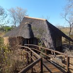 Thatched lodge