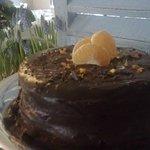 Fosdalhus Cafe delicous cake