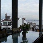 colazione con Mar di Marmara sullo sfondo