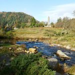Glendalough from the wooden bridge