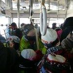 冬は登山客、スキーヤーで大混雑