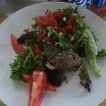 Salad & Sausage