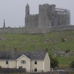 O'Brien home and view of Rock of Cashel