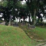 Acesso ao cemitério