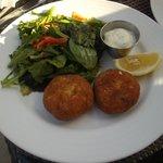 Bermuda Fish Cakes & Salad