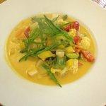 Thai Suppe mit Gemüse - exzellent!