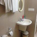 Bathroom in twin room on 3rd floor