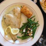 Heavenly grilled sand dabs