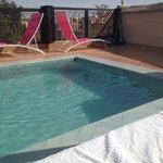 Rooftop pool :)