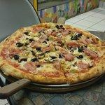 Pizza Capricciosa, mmmhhh...!