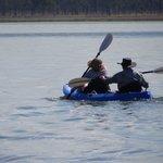 Lake Elphinstone...canoeing