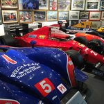 Nigel's cars - including the one in which he won his F1 World Championship!