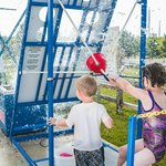 Water wars is an all ages game included in the Summer Beach Family Fun Zone