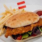 """Kaiser's"" Schnitzel Sandwich"