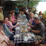 Wonderful river cruise finshed with a yummy lunch