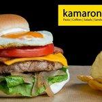 Ohh! thats a reeeaall big burger!!!!!!