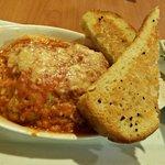 Butternut Squash Lasagna w/Garlic Toast & Caesar Salad