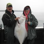 My Halibut, the catch of the day.