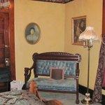 Teddy Roosevelt Suite Bedroom Sitting Area