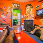 The Ron Burgundy Lounge