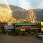 Double Rainbow over the Lodge