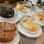 homemade cakes in the Granary
