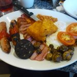 Cooked breakfast @ Harvester Lowry