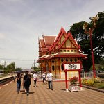 The Hua Hin Train Station is not too far from here.