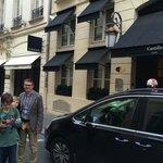 Hotel exterior, Rue Cambon (Chanel next door!)