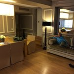 Our spacious suite – room 212