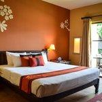 Temple Tree Resort room.