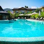 Temple Tree Resort pool.