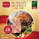 Sunday Buffet only €15 per person