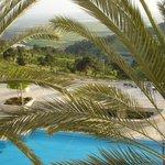 Vista desde la habitación del Hotel Goden Crown (Nazareth)