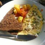 Greek Omelette املت یونانی