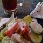 My salad. Mmm