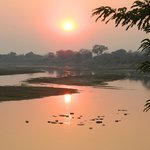 Sunrise in South Luangwa