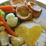 REAL ALE GRAVY with our SUNDAY ROAST